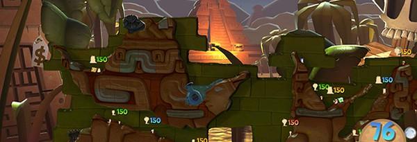 Первые скриншоты и детали Worms Clan Wars