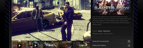 Steam предлагает Saints Row 4 для слабонервных