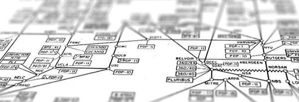 """Sunday Science: карта """"интернета"""" за 1977 год"""
