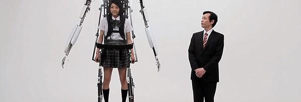 Random Science: Экзоскелет для школьницы