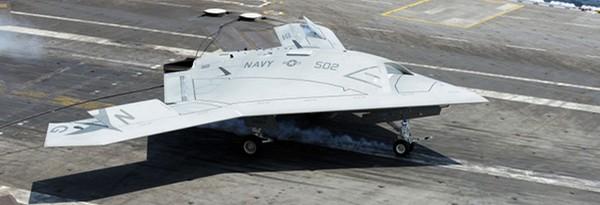 Sunday Science: Боевой беспилотный дрон впервые сел на авианосец