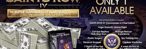 Самая дорогая и редкая коллекционка Saints Row 4 Wad Wad Edition за $1 миллион