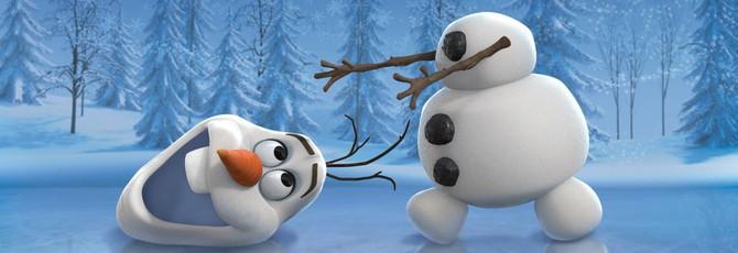 Дебютный трейлер анимационного фильма - Frozen