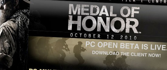 Стартовала PC бета Medal of Honor