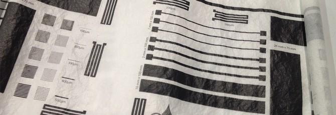 Графеновая краска позволяет печатать схемы на чем угодно