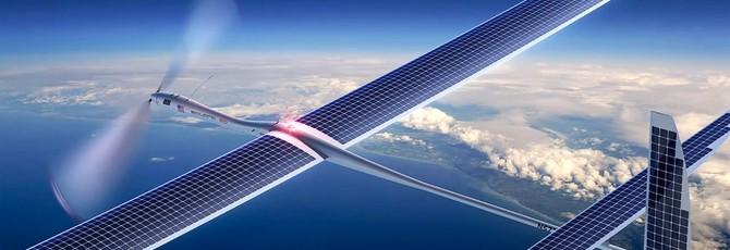 Слух: Facebook будет доставлять интернет летающими дронами