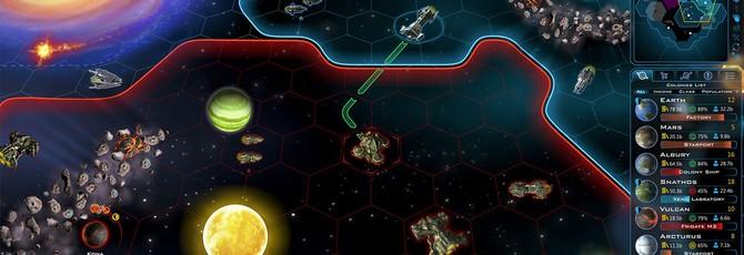 Первый геймплейный трейлер Galactic Civilizations 3