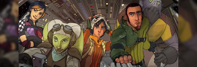 Первое видео Star Wars: Rebels
