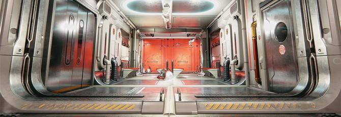Скриншоты Deus Ex: Human Revolution на Unreal Engine 4