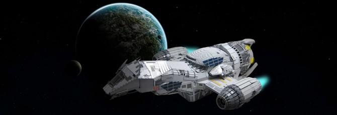 Ускоренная сборка 2-х метрового корабля Serenity