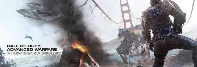 Call of Duty: Advanced Warfare на обложке GameInformer
