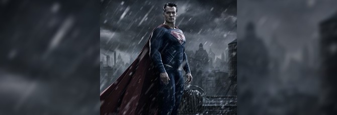 Недовольный Супермен на постере Batman V. Superman