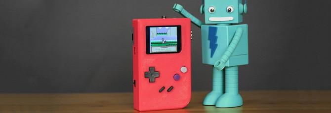 Как сделать собственный GameBoy на 3D-принтере