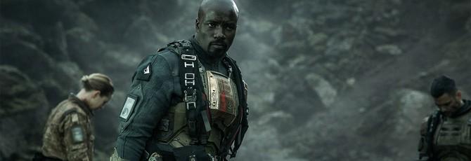 Снимки Halo: Nightfall с Майком Колтером в роли агента Лока