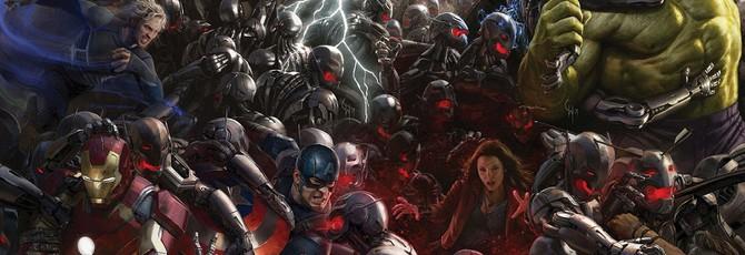 Мега-постер Мстителей 2: Эра Альтрона