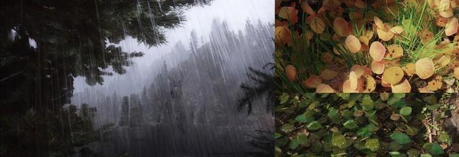 Шикарная травка и проливные дожди в Skyrim