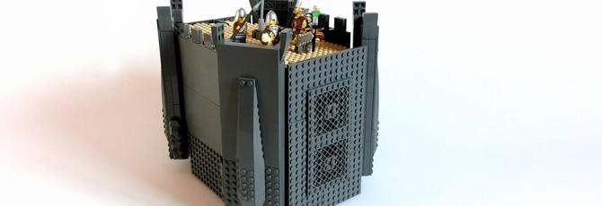 Этот замок LEGO – не просто