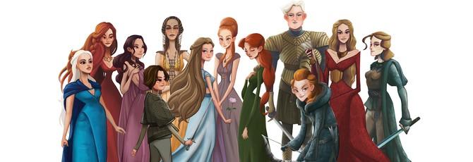 Женщины Game of Thrones