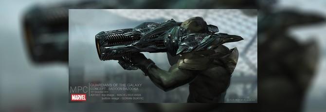Концепты вырезанной из Guardians of the Galaxy расы