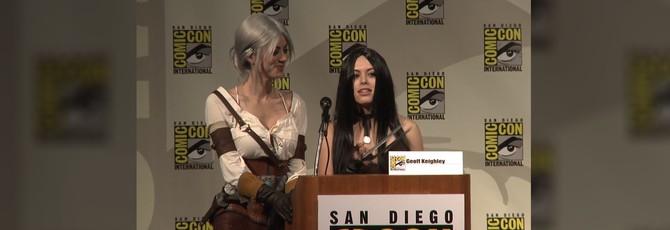 Видео с выступления разработчиков Witcher 3 на Comic-Con 2014