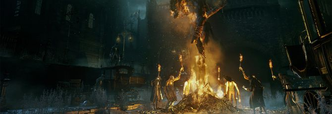 На gamescom будет час геймплея Bloodborne