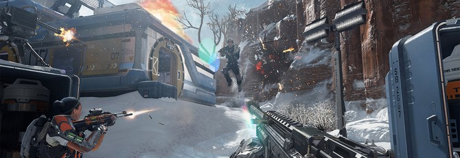 Скриншоты из мультилеера Call of Duty: Advanced Warfare