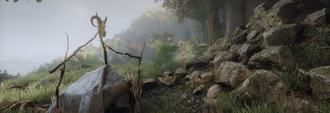 The Vanishing of Ethan Carter: сканы местности