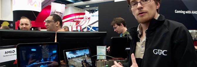 AMD показала облачный гейминг