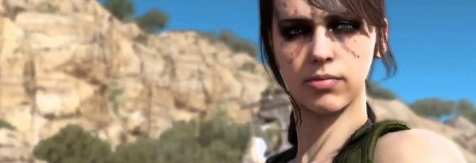 Тихоня из MGS 5: The Phantom Pain действительно оснащена камуфляжем