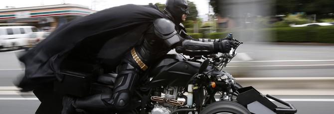 Полиция японского города одобряет местного Бэтмена