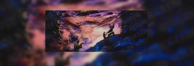 Концепт-арт Хромированного Штурмовика в Star Wars: Episode 7 и дуэль на световых мечах
