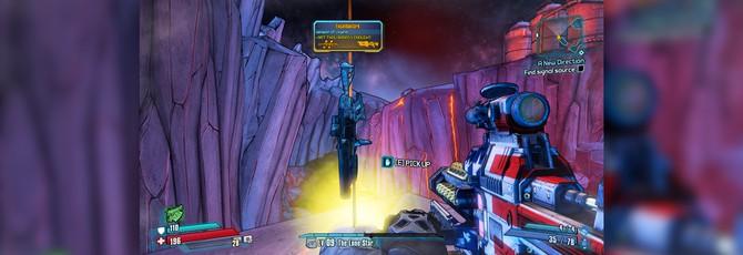 Геймеры разгадали как вытащить винтовку из камня в  Borderlands: The Pre-Sequel