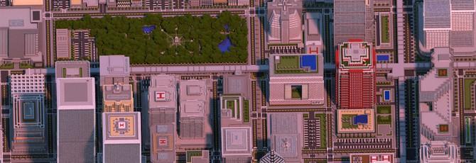 Два года на строительство мегаполиса в Minecraft