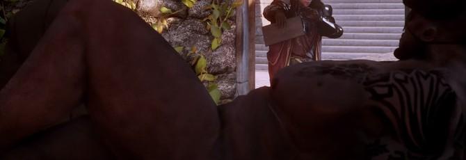 Железный Бык и Каллен в Dragon Age: Inquisition