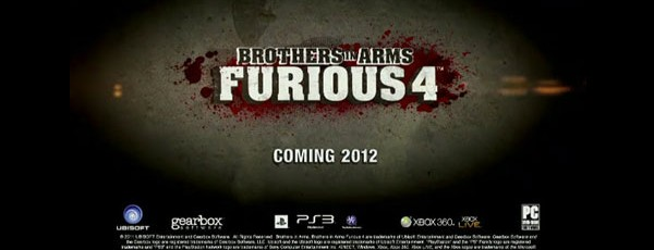 Ubisoft анонсировала Brothers in Arms: Furious 4