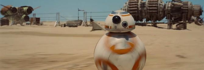 Робот BB-8 в трейлере The Force Awakens — не CGI