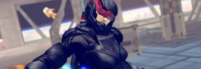Командор Шепард в Street Fighter как модификация