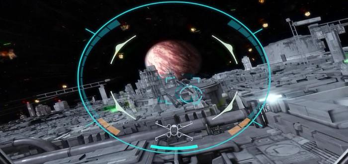 Трейлер классической аркады Star Wars: Battle Pod