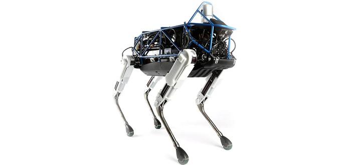 Этого робота-пса сложно опрокинуть