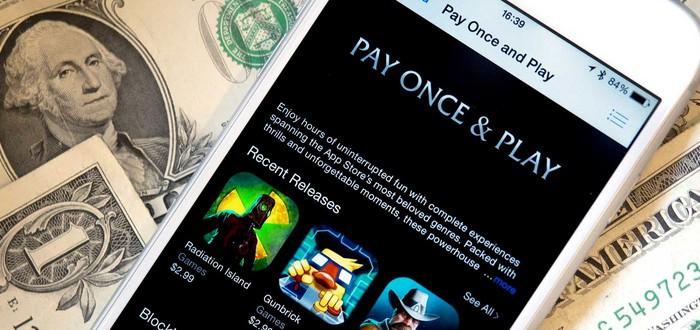 Apple представила новую категорию – Заплати Раз и Играй