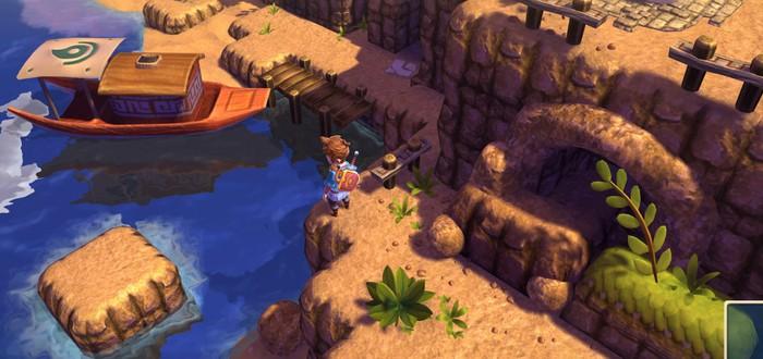 Oceanhorn – отличная адвенчура/RPG в стиле The Legend of Zelda для PC