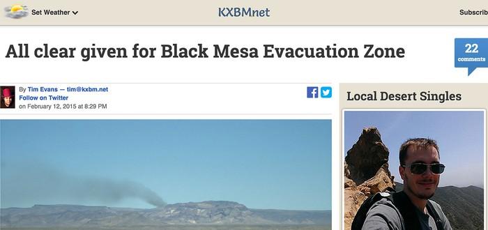 Очередное загадочное обновление сайта Black Mesa