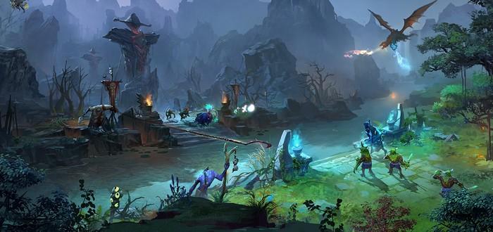 Про-игрок DOTA 2 управлял тремя персонажами и помог выиграть матч