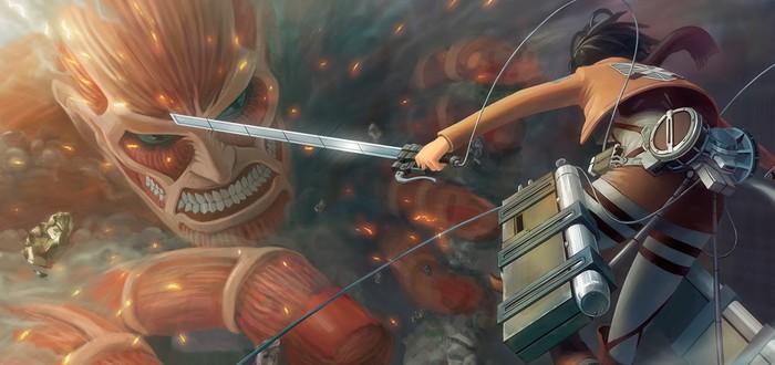 Первый взгляд на лайв-экшен Attack on Titan