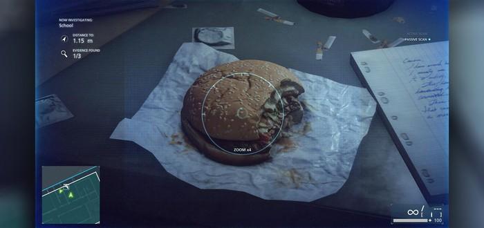 В Battlefield Hardline самый реалистичный гамбургер