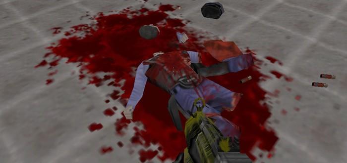 Реки крови в Half-Life с брутальным модом
