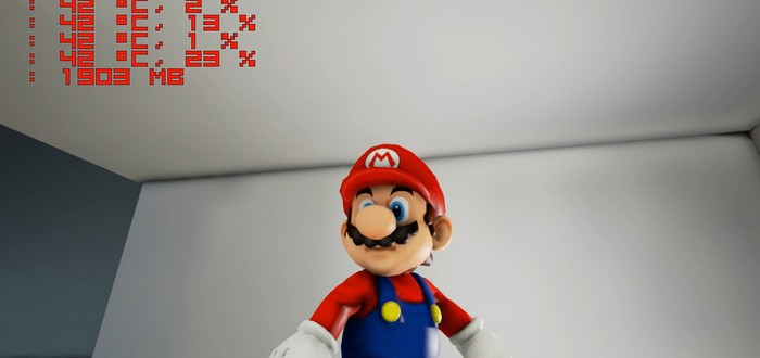 Фанатский Super Mario Galaxy на Unreal Engine 4 получил техно-демо