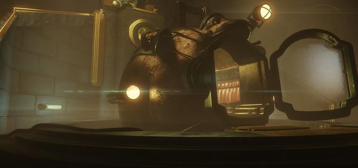 Начальная сцена BioShock на CryEngine