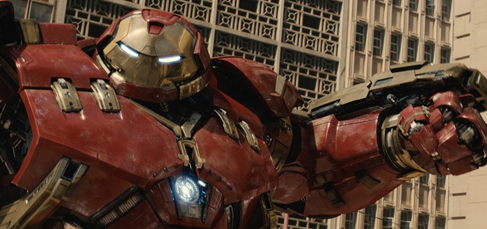 Сцена битвы Железного Человека и Халка из Avengers: Age of Ultron