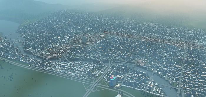 Продажи Cities: Skylines превысили 1 миллион копий